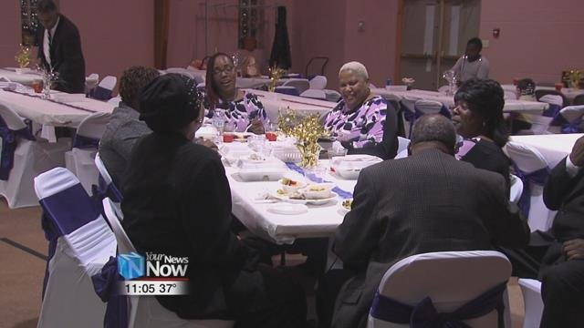 Fourth Street Missionary Baptist Church held an anniversary dinner Saturday night, a part of their centennial celebrations.
