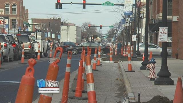 Findlay is hosting a grand re-opening of their downtown area after parts of Main St. were under construction since early summer.