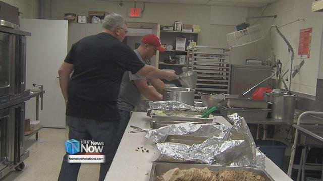 The Knights of Columbus in Delphos continued their 25 year tradition of preparing and hand delivering meals to the Delphos community and surrounding area.