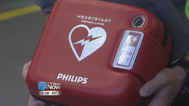 The life saving machines were donated by Lima Memorial Health System and Mercy Health St. Rita's Medical Center