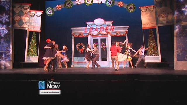 Ohio Northern University brings their annual Christmas extravaganza to the Civic Center starting Friday, December 1 and lasting with shows through the weekend.