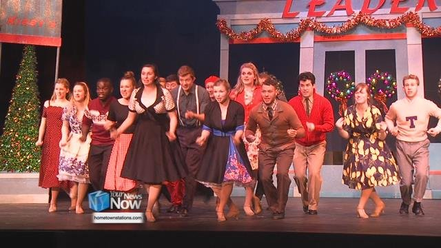 About 100 people are in the cast and crew from all over the Lima area counties - including some kids who get to be featured in the production.