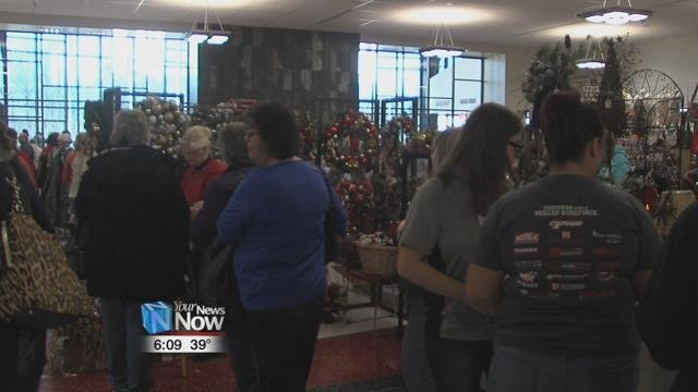 "Hundreds of people checked out the over 130 vendors at this year's ""Apollo's Christmas Craft Show."""