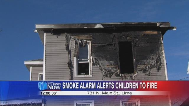According to the Lima Fire Department, just after 3:30 a.m. Wednesday morning, six children were asleep at 731 North Main Street while their parents were working.