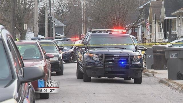 Police officials said they received calls of shots fired in the 500 block of Orena Avenue.