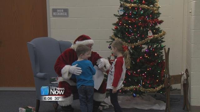 Families could stop by the YMCA to enjoy a breakfast of pancakes, eggs, and sausage, make some arts and crafts, and of course, give their wish list to Santa before Christmas.