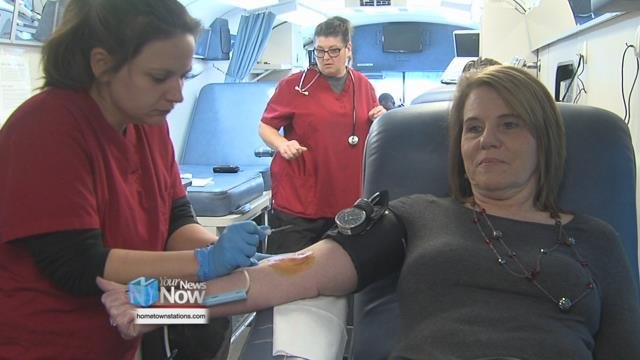 The Crossroads Church of God hosted a blood drive through out their Sunday morning services December 10th.