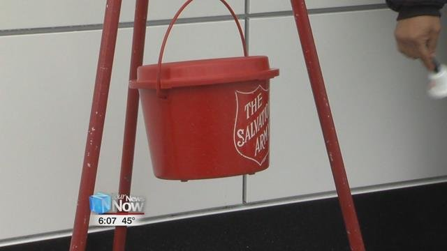 You can help by volunteering to ring the bells in the days remaining through December 23rd or make a monetary contribution to the Salvation Army