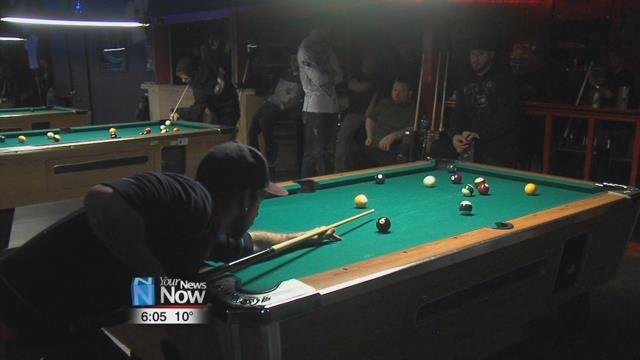 "The ""End of the Year"" tournament was made up of single member teams at Thirsty's in Beaverdam."