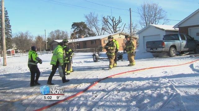 According to American Township Fire Department, they were called out to 1826 North Eastown Road around 9:30 a.m. Tuesday morning.