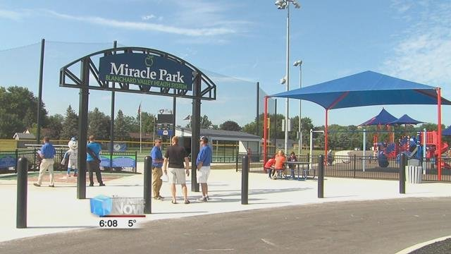 Mihalik also looks forward to the first ever Miracle League All-Star Game which is to be held in Findlay in September.