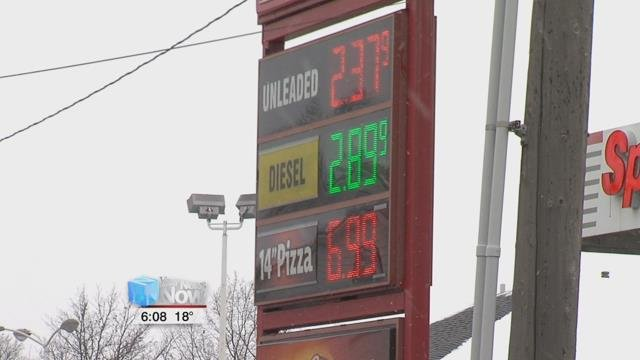The newest gasoline forecast, which is published by GasBuddy, says that the gas average in 2018 will be $2.57, just slightly higher than the average in 2017, which was $2.49.