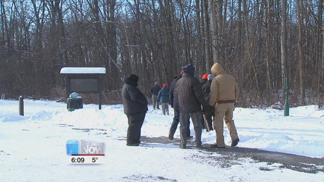 The Start the Year Right hike is held annually by the Johnny Appleseed Metropolitan Park District within the first week of the new year.