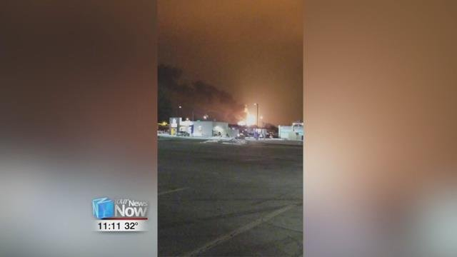 Some viewers reported bigger than normal flames coming from the Husky Refinery Sunday