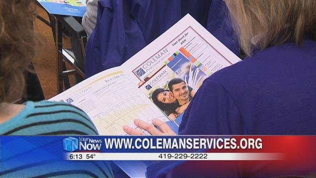 To learn more about Coleman Professional Services, log on to http://www.colemanservices.org or call 229-2222.