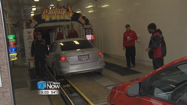 According to a manager at 4Seasons Car Wash, they have seen an increase in the number of customers at the Bellefontaine Ave.location.