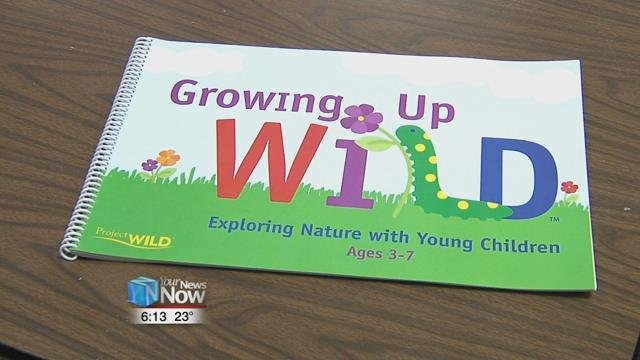 """Growing Up Wild"" is a teaching tool for educators to engage kids age 3 to 7 in activities about nature."