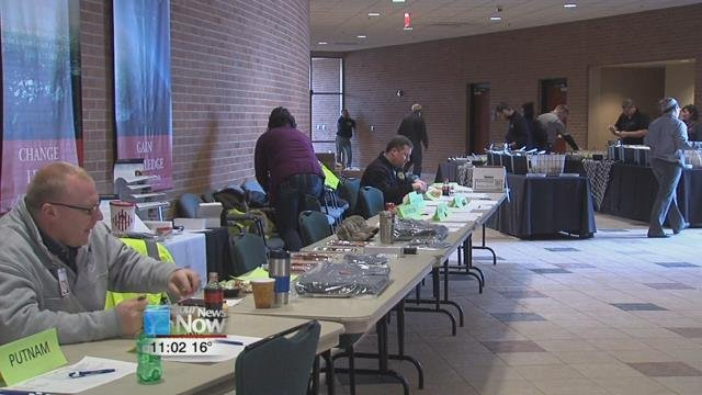 The Northwest Ohio Hazmat Conference took place at the University of Findlay on Saturday, where around 15 counties spent the day getting valuable hazmat training and seeing what new technology is out there to help them.