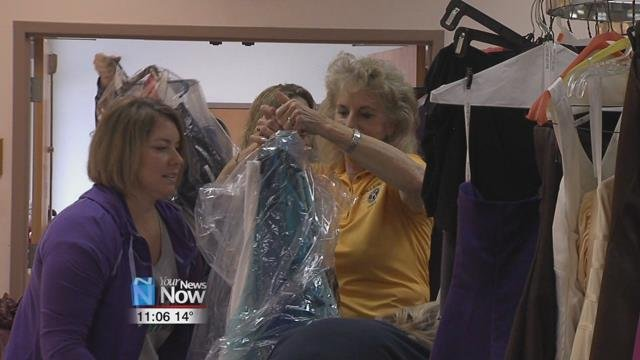 The Kiwanis and Duffy's Cleaners are teaming up once again to put on Diva's Den, an event that offers prom dresses for local teenagers.