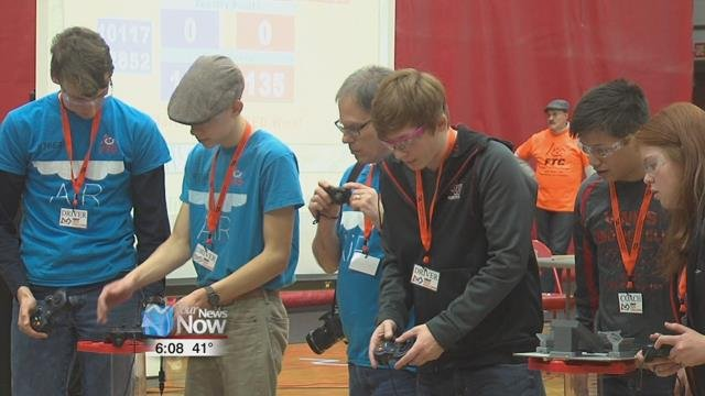 The Van Wert Robotics Team hosted its fourth Northern Ohio First Tech Challenge Robotics Competition.