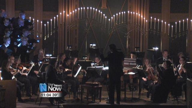 "The Lima Symphony Orchestra put on their ""Baroque by Candlelight"" performance at Trinity United Methodist Church Saturday night."