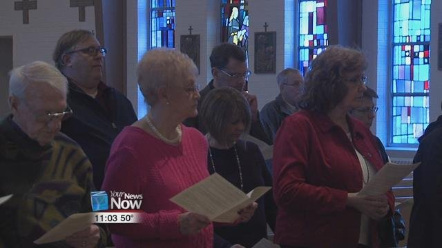 The Botkins Ministerial Alliance held their annual interdenominational Celebration of the Word of God at the Immaculate Conception Catholic Church.