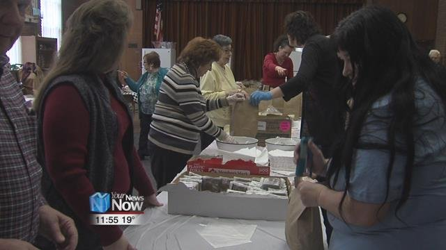 Temple Beth Israel-Shaare Zedek held their annual Corned Beef Carry-Out Lunch.