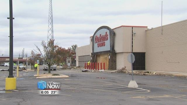 Peebles, Dunham's Sports, and Ruler Foods are still closed months after the tornadoes and storms, but all are expected to reopen shortly.