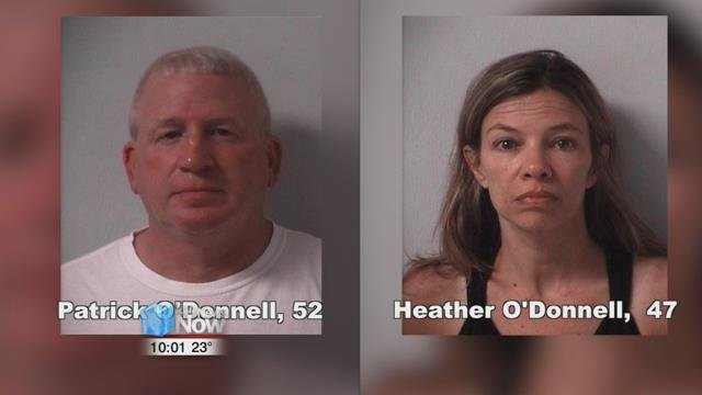 52-year-old Patrick O'Donnell and 47-year-old Heather O'Donnell will be tried together in Logan County Common Pleas Court.
