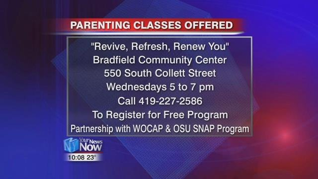 """Revive, Refresh, Renew You"" will be held on Wednesday evenings for 9 weeks at the Bradfield Center."