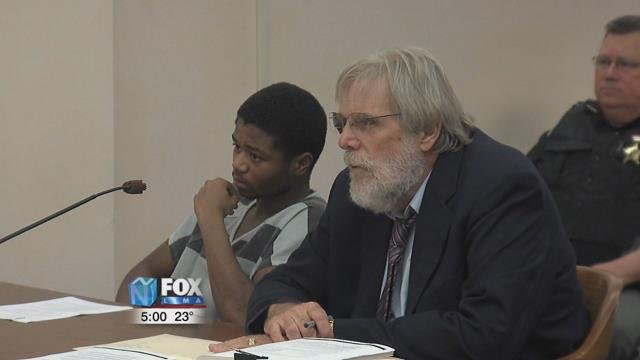 19-year-old Jayleon'tre Harris appeared before Judge Jeffrey Reed to hear the prosecution's deal.
