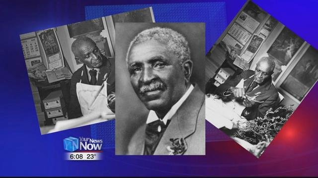 """Botanist George Washington Carver became known as """"The Peanut Man"""" after appearing in front of Congress in 1921."""