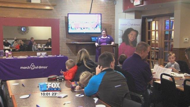 At Westgate Bowling Alley, the March of Dimes kicked off its campaign for the March for Babies Walk in Lima.