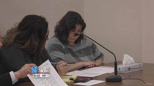 If given the maximum sentence, she faces 129 years in prison and $225,000 in fines.
