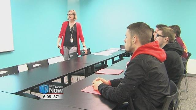 Ohio Means Jobs hosted a group of Perry students to help shape them for the workforce.
