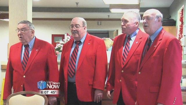 In past years, the chorus says that they've had up to 60 valentines to sing in a day.