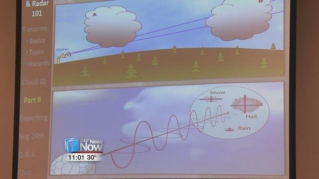 At the annual SKYWARNStorm Spotter workshop, regular community members got trained up.