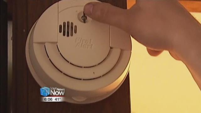The Bath Township Fire Department recommends that you should check your detectors regularly.