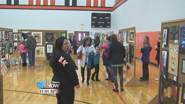 It may have been a Sunday but Fort Jennings High School was filled to the brim with people looking for a cultural experience.