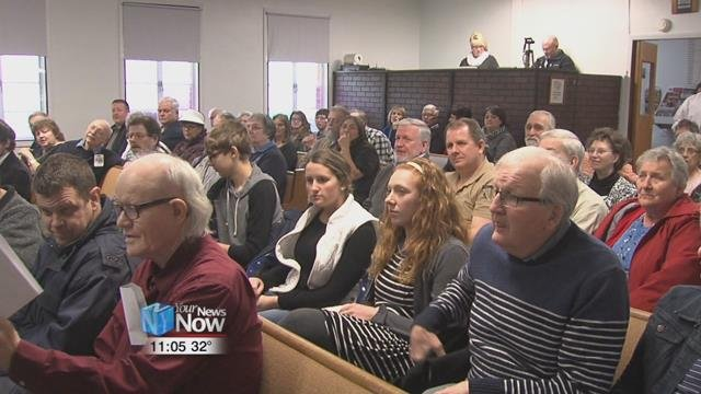 The Van Wert County Ministerial Association hosted a countywide prayer service at Pentacostal Way Church Sunday evening