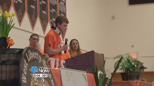 West Liberty-Salem student Logan Cole said in a Facebook video he won't participate in the Wednesday student walkouts promoted by organizers of the Women's March.