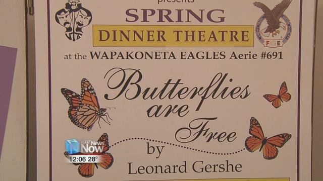 "For their spring performance, they are revisiting a play they did nearly two decades ago, ""Butterflies Are Free""."
