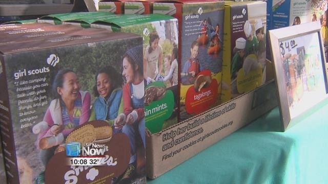 Girl Scout Cookie Sales End This Sunday