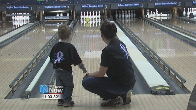 The 8th annual Bowling for the Boyz event was held at the Delphos Recreational Center.