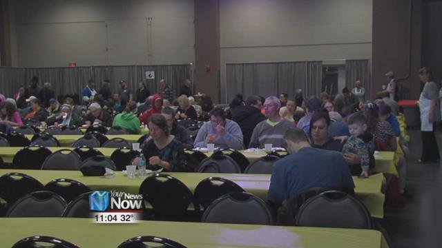 Church offers community Easter meal for the 36th year
