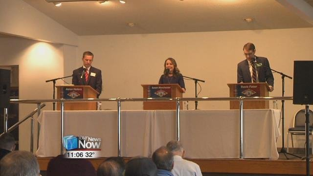 Questions of all kinds from gun control to agriculture to the opioid epidemic were brought to the table, with each candidate having time to talk about what they would like to do for the district.