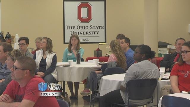 The evening gives the students the chance to learn even more about Ohio State, not only from staff but current and former students as well.
