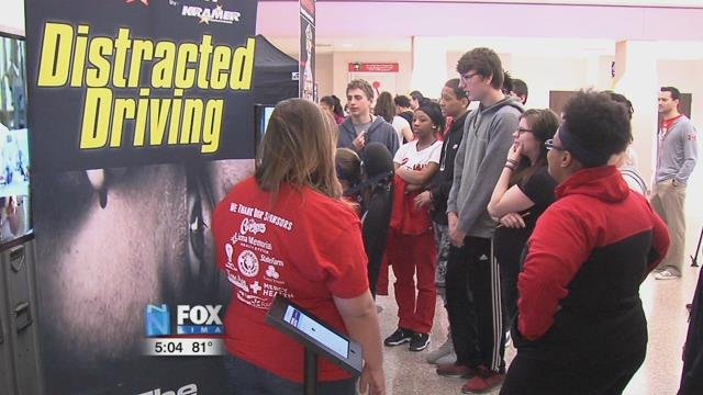 "Friday, the SADD chapter brought in the ""International Save a Life"" Tour."