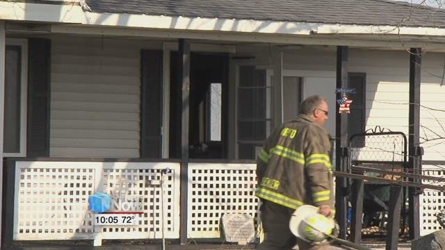 The Wayne township fire department was called to the 17 hundred block of Smith Road, around 5:15 Friday afternoon