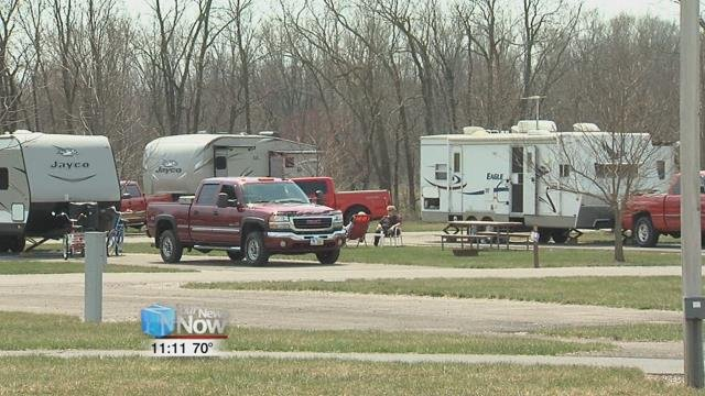 The Johnny Appleseed Metropolitan Park District opened their campground for the 2018 season.